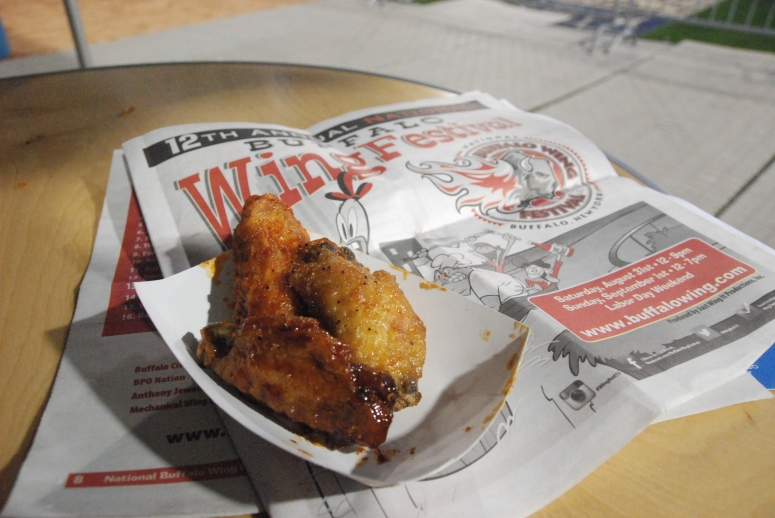 These wings were delicious. Trust me.