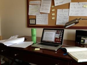 My studio at the VSC