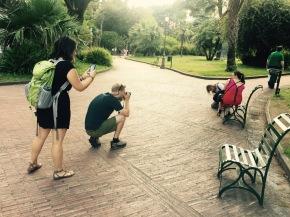 Capturing, capturing a culture.
