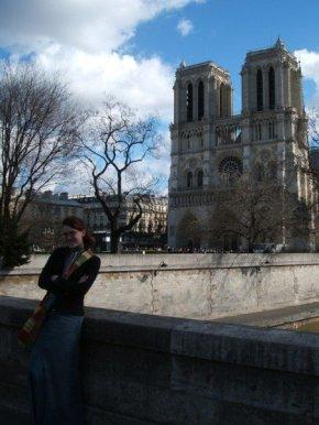 Me at Notre Dame, circa 2007.